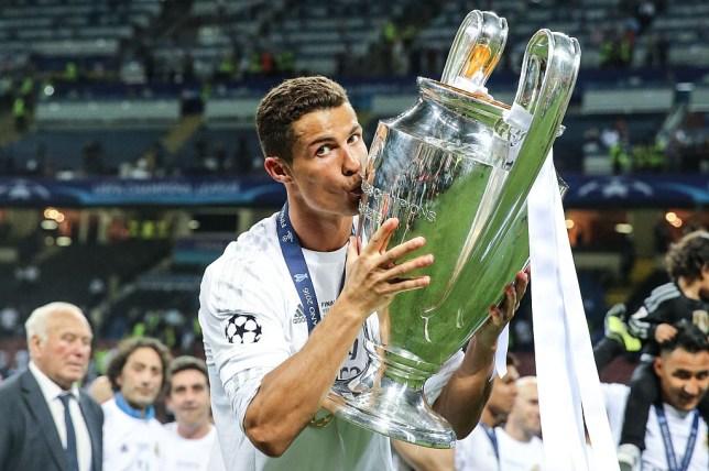 Ronaldo Champions League Sieger