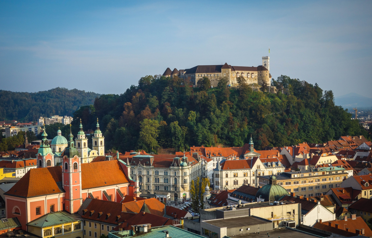 Ljubljana in Slovenia (Picture: Getty)