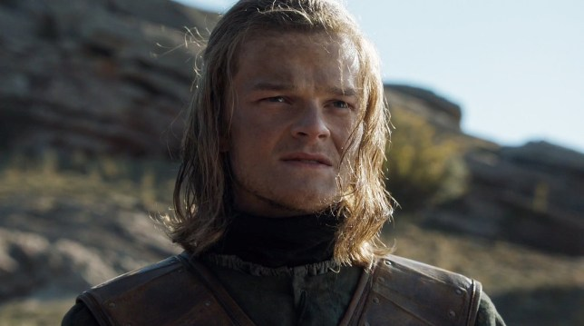Young Ned Stark played by Robert Aramayo (Picture: HBO)