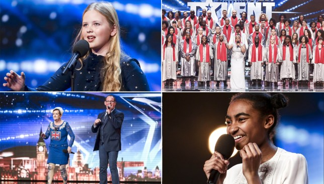 Can I get a comp of all this year's BGT Golden Buzzer acts please? Credit: ITV
