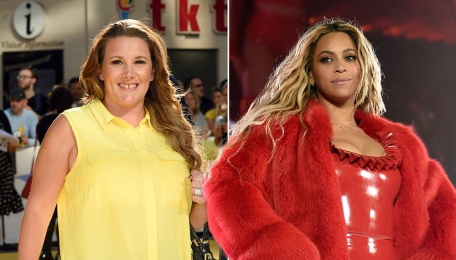 Sam Bailey says Beyonce never spoke to her on tour despite being her support act Credit: Getty Images