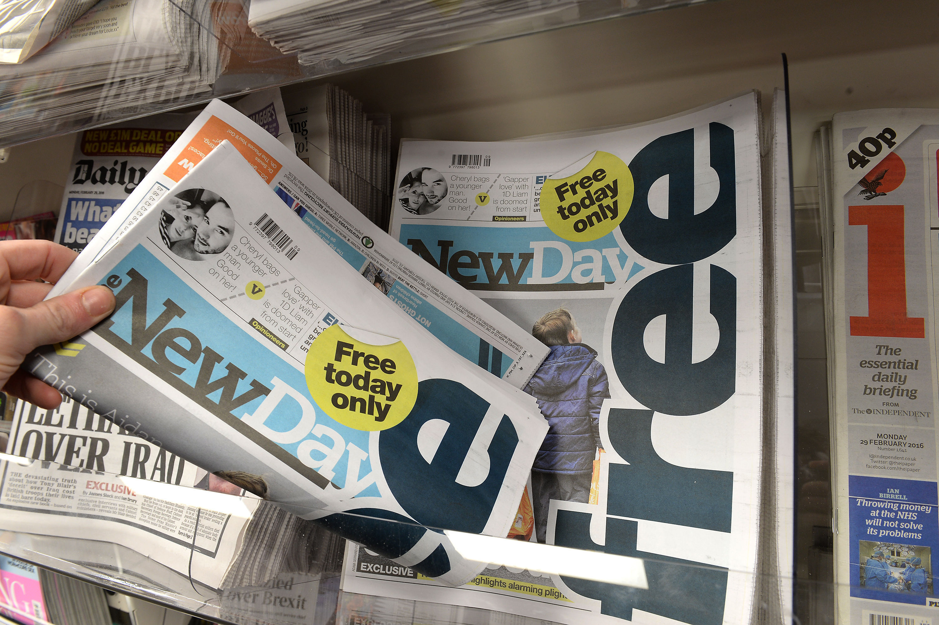 New Day paper scrapped after just nine weeks