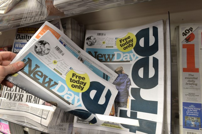 New Day paper scrapped after nine weeks