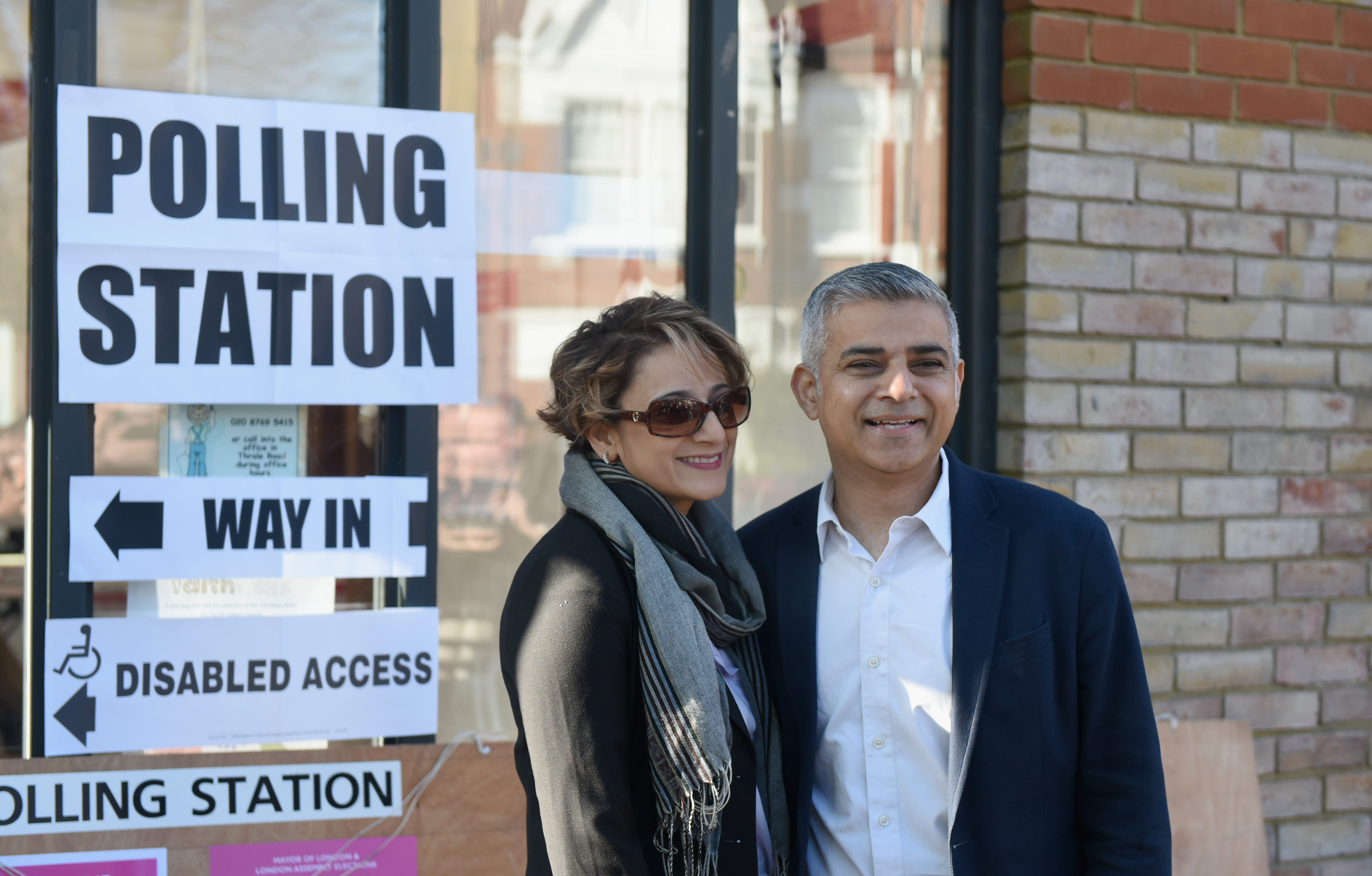 Sadiq Khan on course to win, final pre-vote poll shows