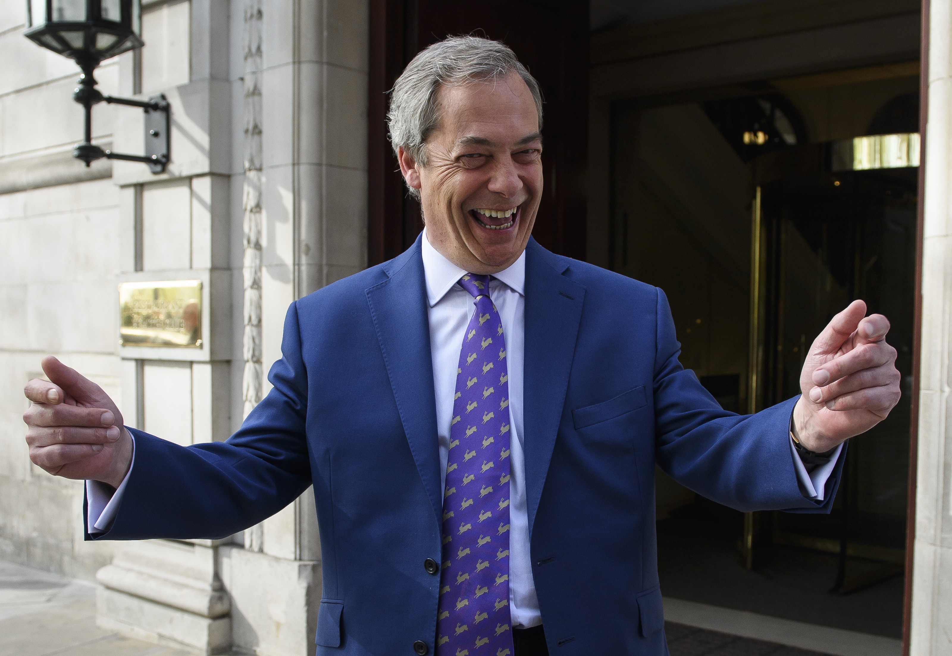 Farage says the Ukip movement' is growing as party claims first Welsh Assembly seats