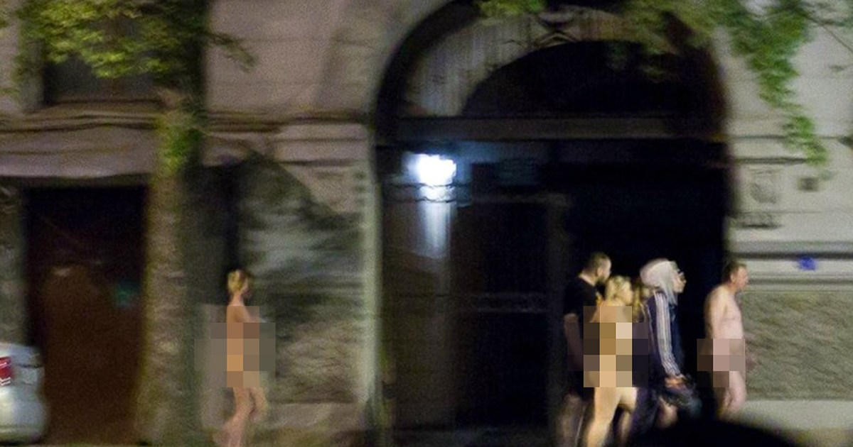 Police force prostitutes to walk through St Petersburg