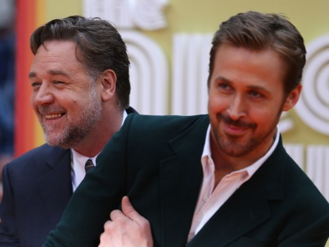 Ryan Gosling and Russell Crowe were the absolute cutest at The Nice Guys premiere