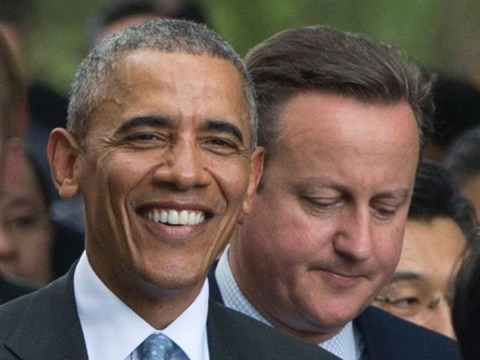 David Cameron's looking pretty sad now Obama's got a new best mate