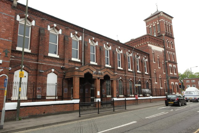 woman gives three men blowjobs in club in KIDDERMINSTER