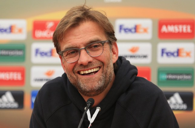 LIVERPOOL, ENGLAND - MAY 04: Jurgen Klopp, manager of Liverpool talks during a press conference ahead of the UEFA Europa League Semi-Final Second Leg match against Villarreal at Melwood Training Ground on May 4, 2016 in Liverpool, England. (Photo by Clint Hughes/Getty Images)