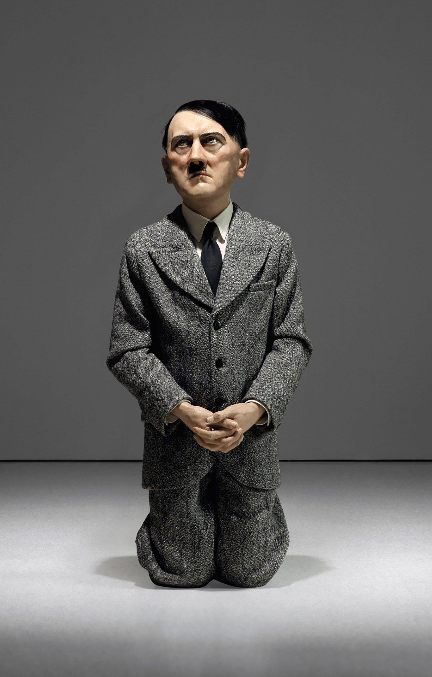 Kneeling Hitler statue sells for £12million at auction