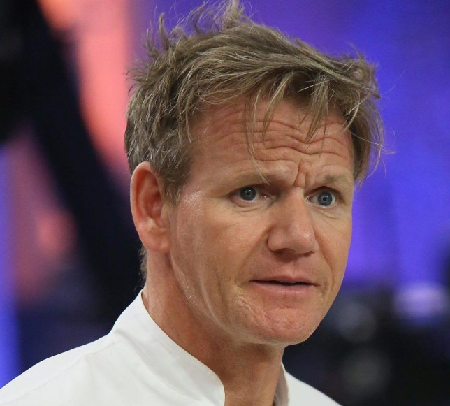 Gordon Ramsay ruined couple's restaurant proposal Credit: getty