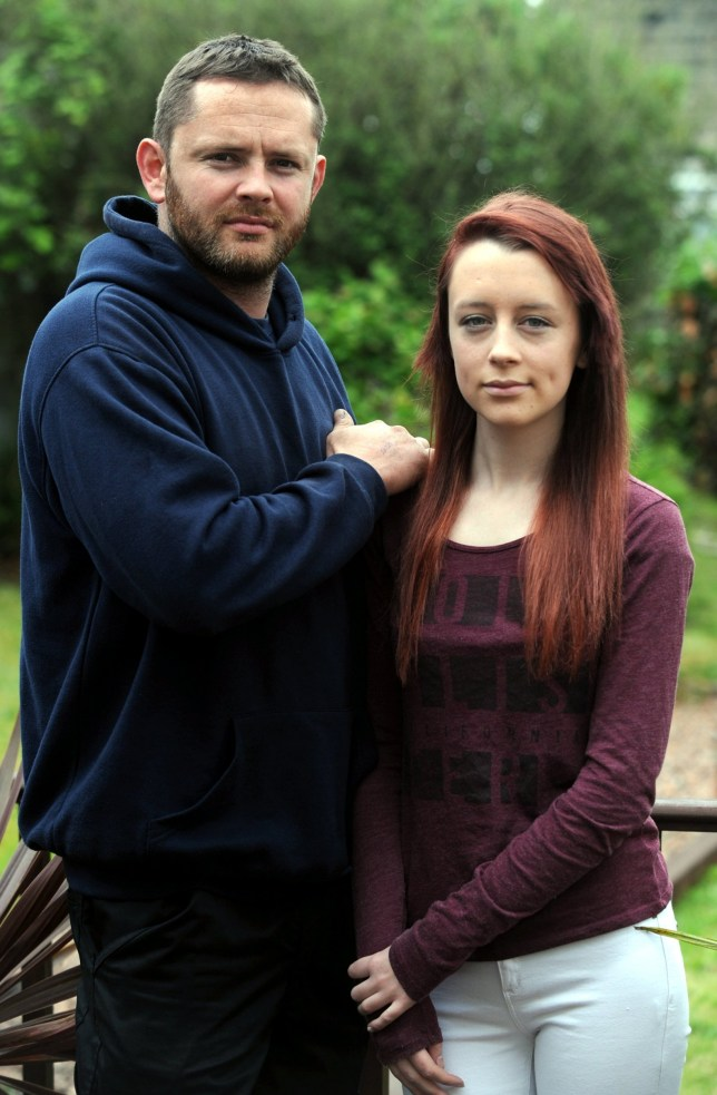 """sent home from school - after turning up with GINGER hair. Credit: SWNS. Owen Thomas and his daughter, Leah, aged 16, who was sent home from college because of her red dyed hair. See SWNS story SWRED: A furious father has hit out after his daughter was sent home from school - after turning up with GINGER hair. Leah Thomas, 16, died her long naturally dark hair red before heading to classes at Ivybridge Community College. But the GCSE pupil was put in isolation and then sent home by teachers at the South Devon school until she changes her new do. The school has said she can come back to classes when her hair """"meets the published requirements""""."""