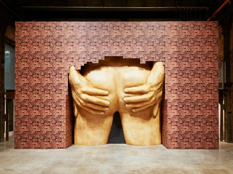 The shortlist for the Turner Prize includes a giant sculpture of a bum