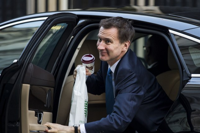 Mandatory Credit: PhotoJeremy Hunt puts in 27p expenses claim for car journey
