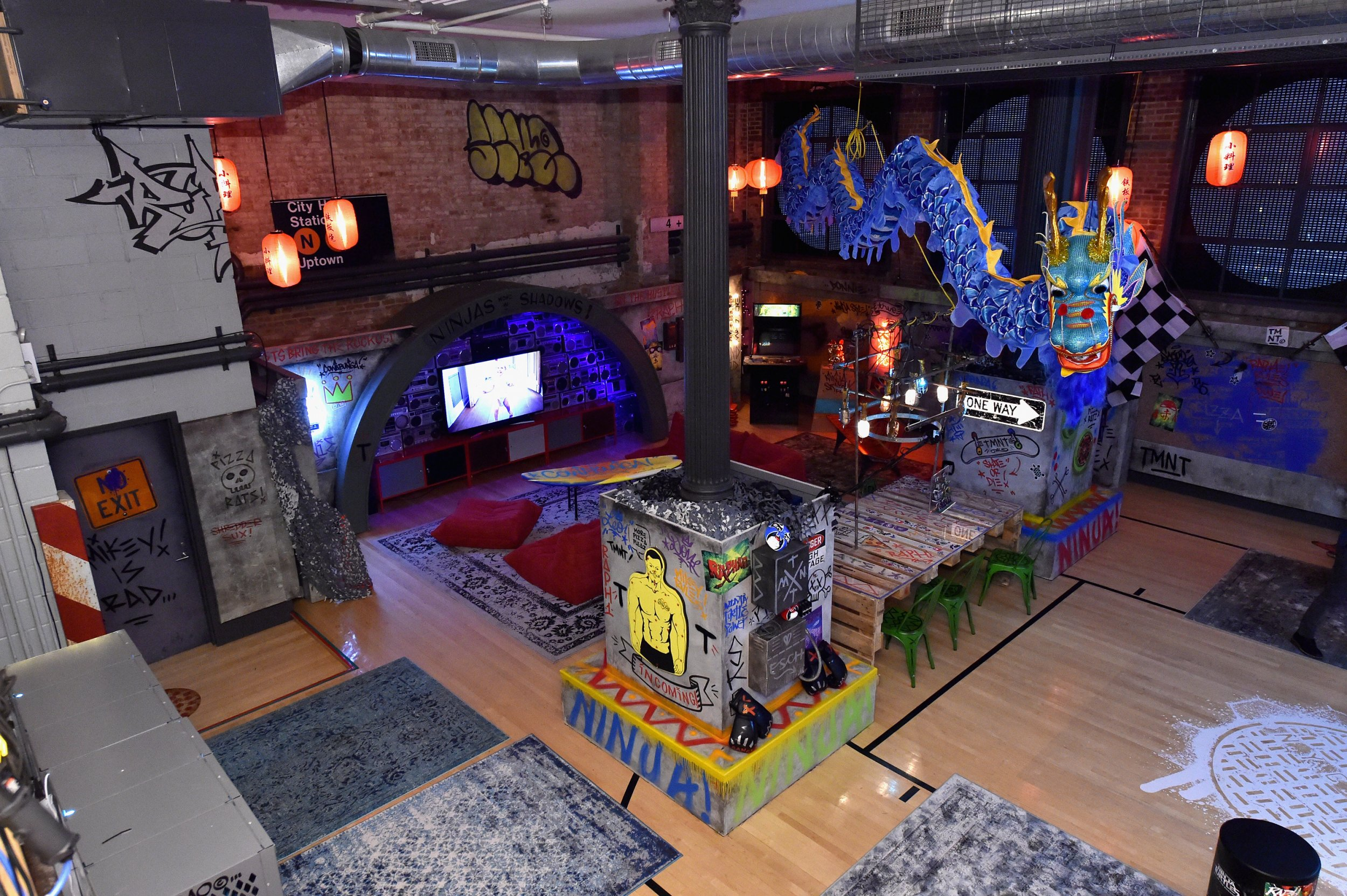 You can stay in this Teenage Mutant Ninja Turtle themed lair for just £7