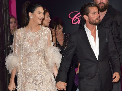 Scott Disick holds hands with Kendall Jenner in Cannes, makes out with Kendall lookalike