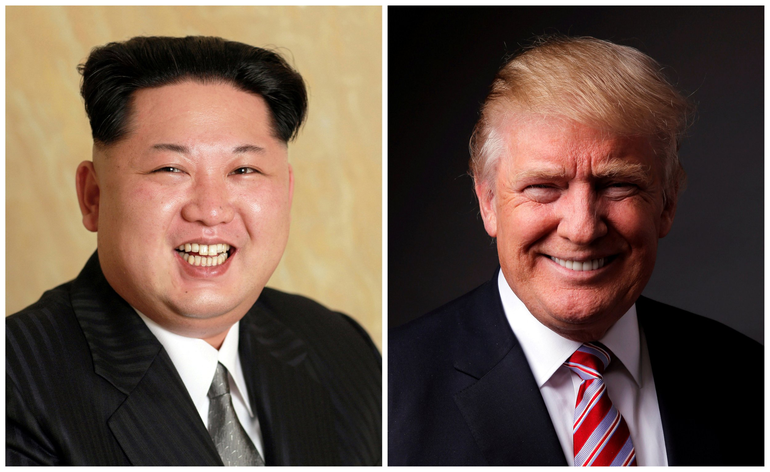Donald Trump says he's happy talking to Kim Jong Un