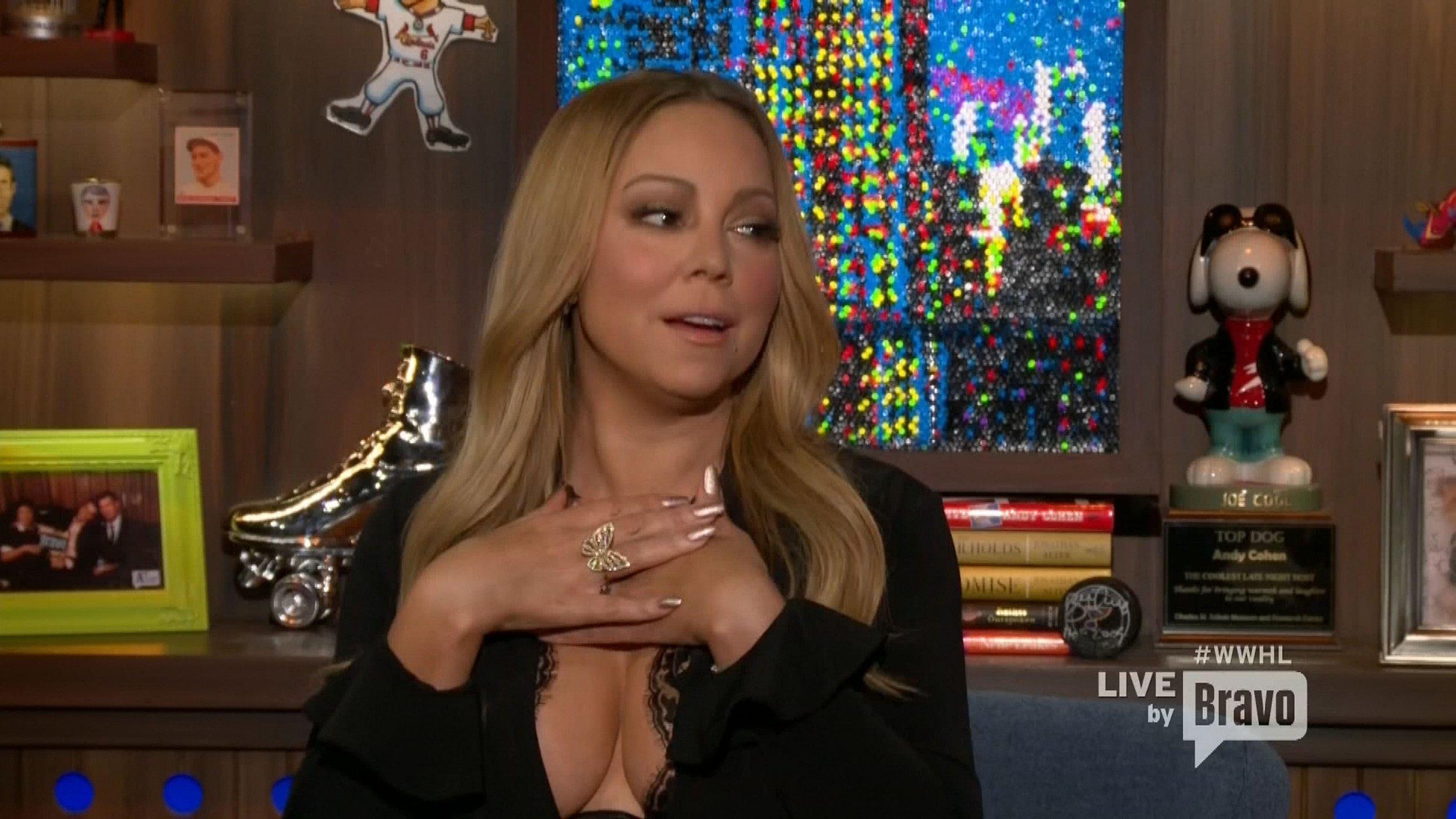 Mariah Carey has just thrown massive shade at Nicki Minaj and JLo. Again.