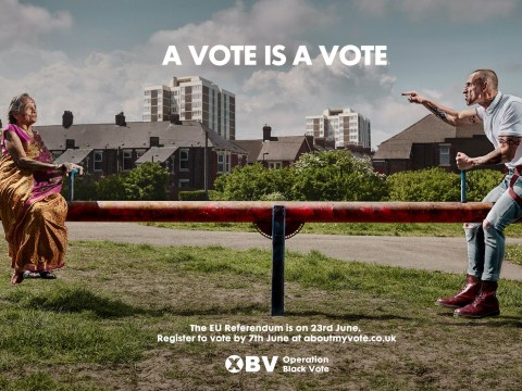Is Operation Black Vote's EU referendum poster 'racist'?