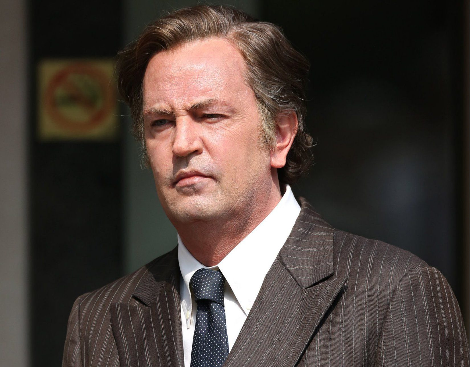 Matthew Perry has completely ditched Chandler Bing by the looks of his new role