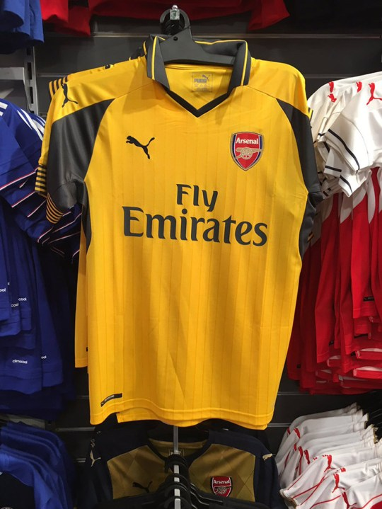 release date 374c2 195aa Arsenal 2016/17 home and away kits revealed as they go on ...