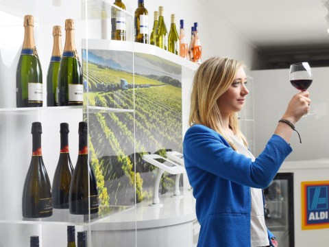 Rejoice, fans of budget plonk: Aldi is opening a snazzy wine-only shop