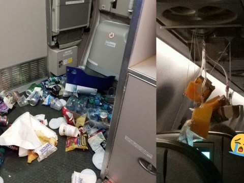 Plane's turbulence was so bad a fridge exploded
