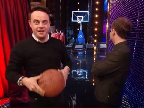 BGT 2016: Ant McPartlin shocks Britain's Got Talent judges with jaw dropping trick