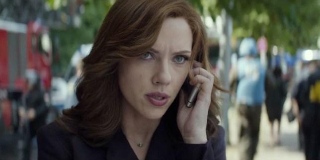 Black Widow in Captain America: Civil War (Picture: Marvel Studios/Disney)