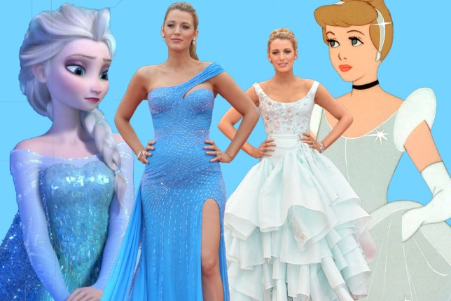 Blake Lively is an actual Disney princess at Cannes