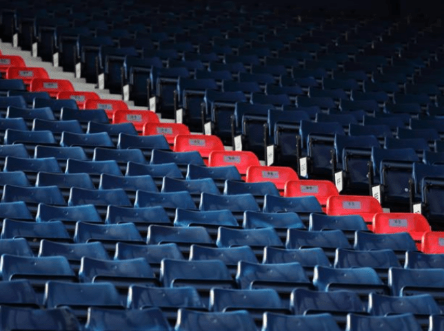 West Brom have turned 96 seats red in a tribute to the killed Liverpool fans. (Picture: West Brom)