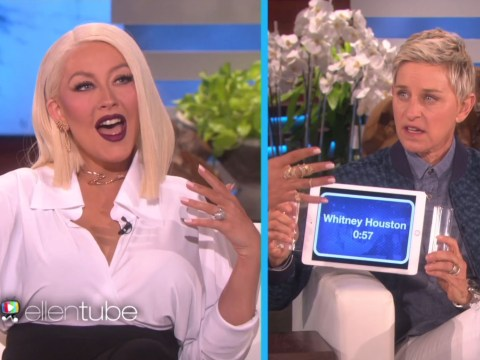Watch Christina Aguilera sing Adele, Madonna and Rihanna in 60 seconds