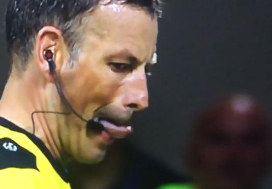 Mark Clattenburg goes full lizard ahead of Champions League final penalty shootout