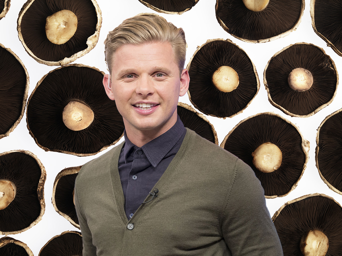 Jeff Brazier is an ambassador for mushrooms now Credit: Getty/Rex