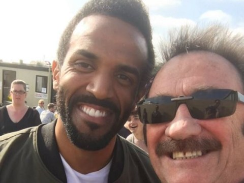 Paul Chuckle has taken a brilliantly unlikely selfie with Craig David