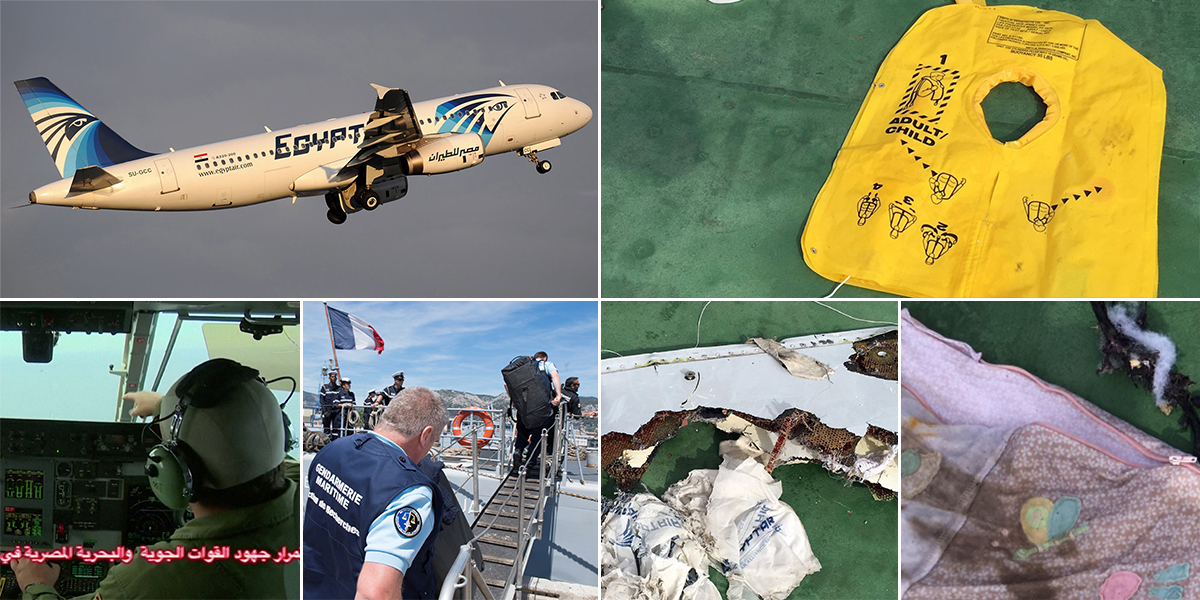 EgyptAir crash: It could take weeks to recover passenger bodies, warn airline