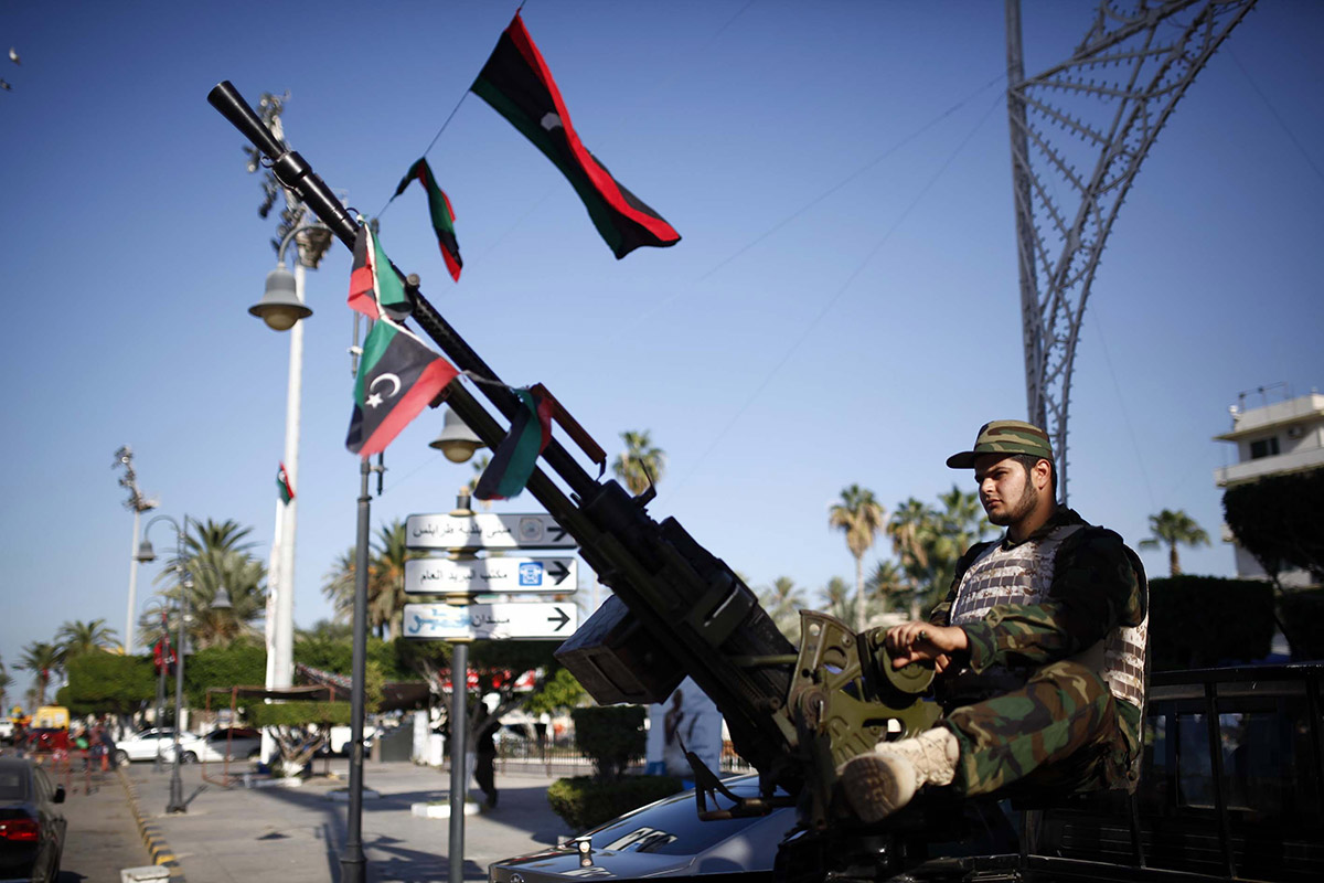 Turns out we're at war in Libya but nobody bothered to tell us