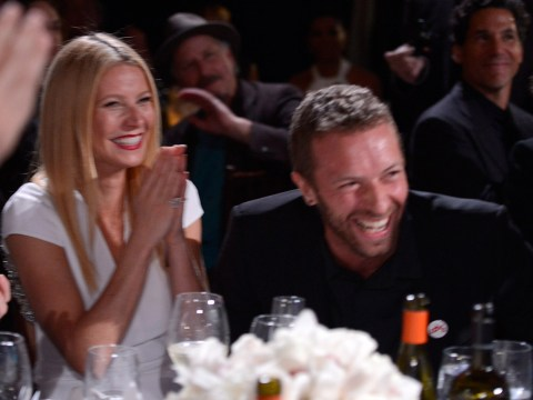 Gwyneth Paltrow posts the sweetest photo of ex-husband Chris Martin being reunited with son Moses