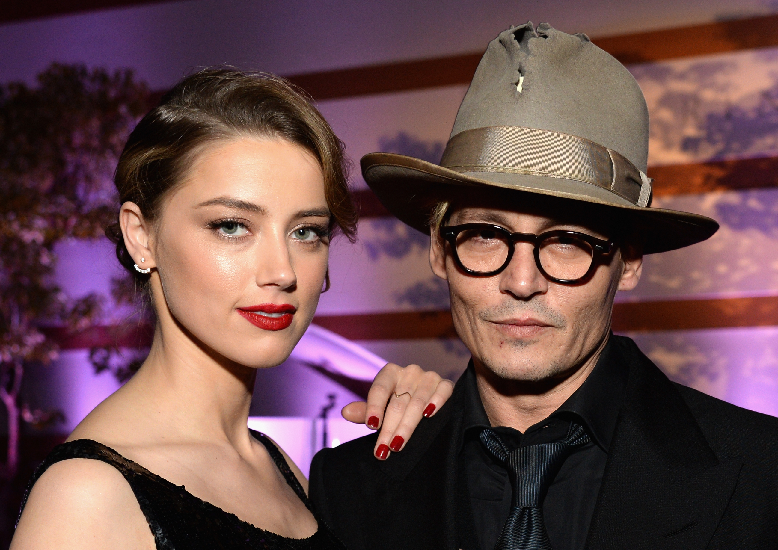 Amber Heard 'seeking £34,000 in monthly spousal support' from Johnny Depp