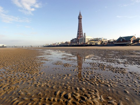 One of the world's best beaches in the world is… err… Blackpool?