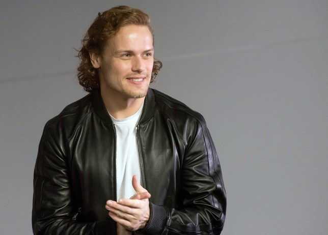 """NEW YORK, NEW YORK - APRIL 06: Actor Sam Heughan attends Apple Store Soho Presents Meet the Cast: """"Outlander"""" at Apple Store Soho on April 6, 2016 in New York City. (Photo by Mike Pont/WireImage)"""