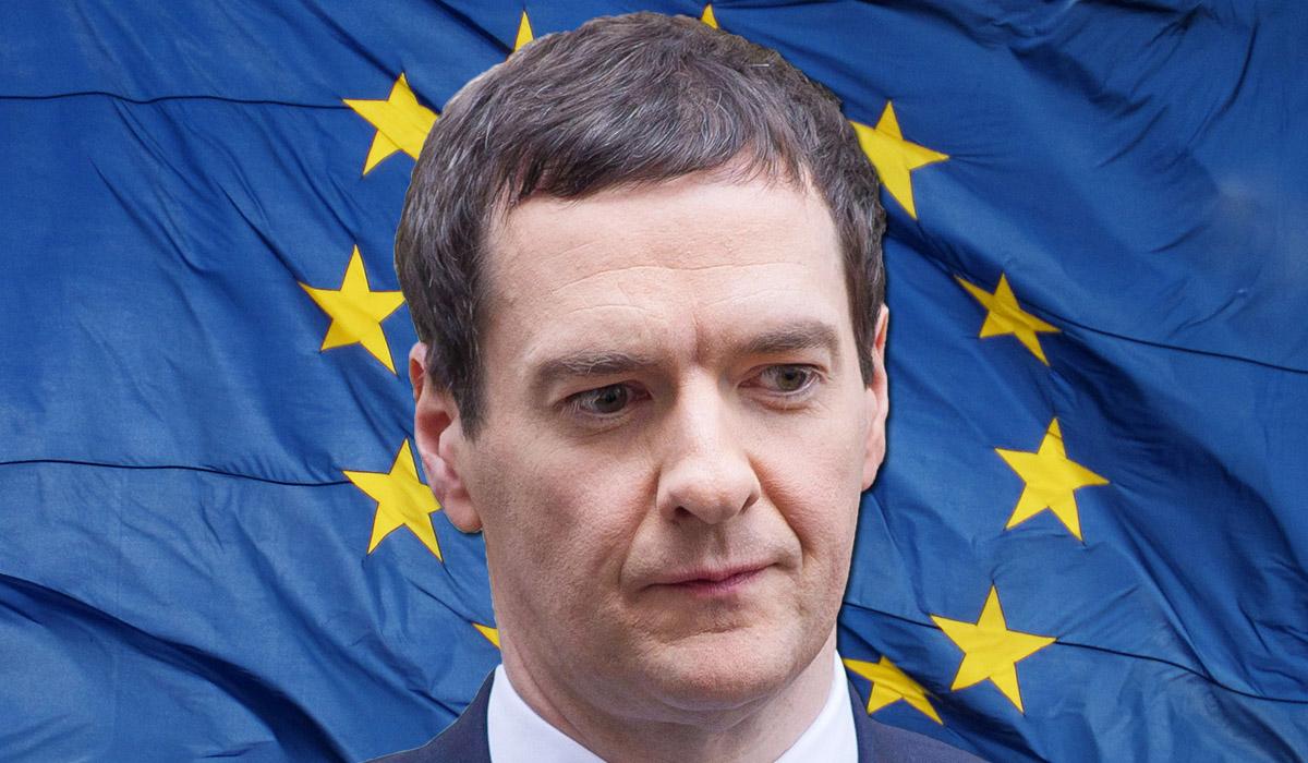 Leaving the EU would spark a recession, warns George Osborne