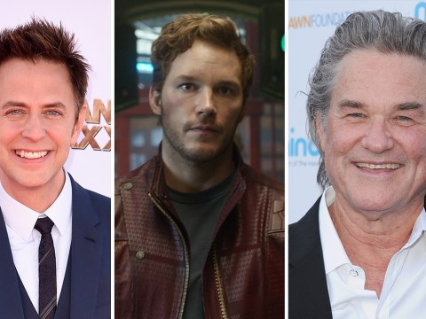 Chris Pratt and James Gunn reduced to tears by Kurt Russell's exit from Guardians Of The Galaxy Vol. 2 set