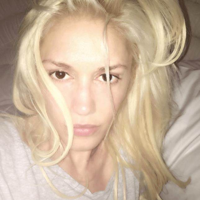 Gwen Stefani looks amazing in her no makeup selfie (Picture: Gwen Stefani Instagram)