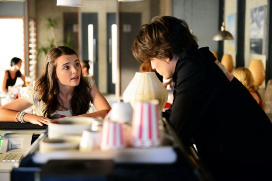Evelyn (PHILIPPA NORTHEAST) tries to convince Josh (JACKSON GALLAGHER) to set up Maddy and MattEpisode 6191