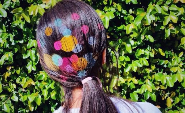 hair stencilling trend