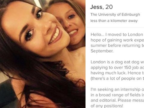 University student uses Tinder to search for a job – but not all the responses were professional