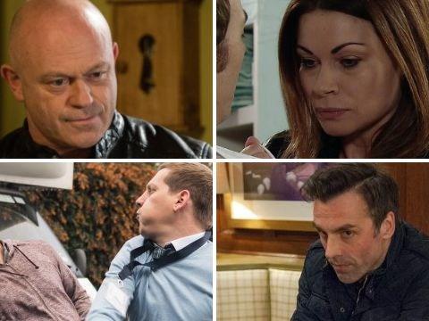 12 soap spoiler pictures: EastEnders return for Grant, Hollyoaks murder, Coronation Street Carla twist