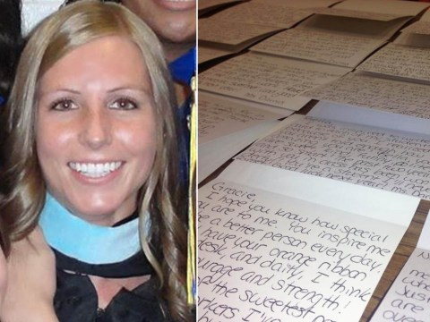 Teacher writes heartfelt letters to 100 students after one student's suicide scare